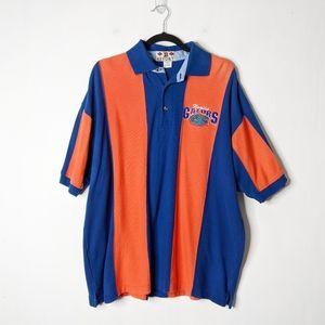 Vintage Florida Gators Striped Rugby Polo Shirt